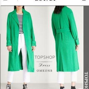 Topshop plain medium elegant style trench coat